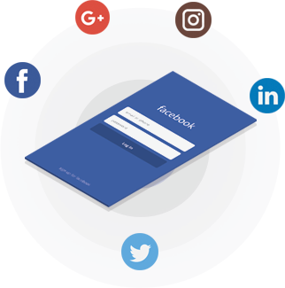 Login with Social Media for E-Commerce software